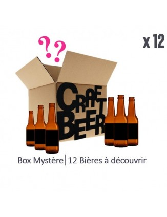 BOX MYSTERE 12X33CL BIERES...
